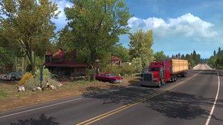 American Truck Simulator – Oregon Launch Trailer
