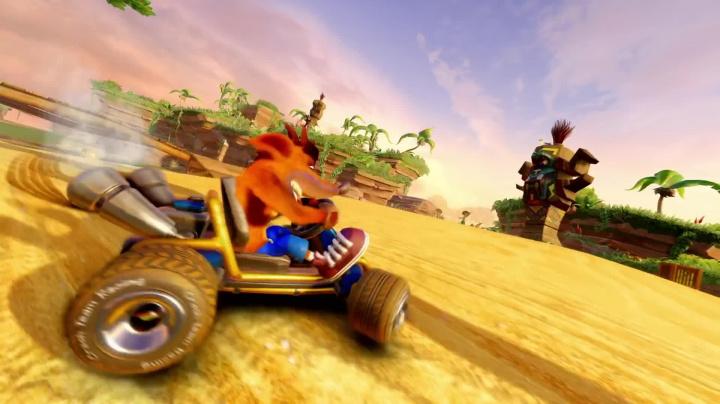 Crash Team Racing Nitro-Fueled - oznamovací trailer