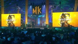 Mortal Kombat 11 - Official Gameplay Reveal - Scorpion vs Baracka