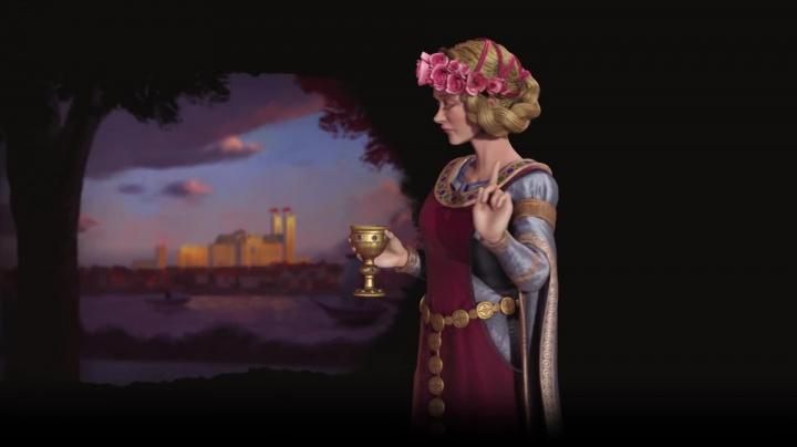 Civilization VI: Gathering Storm - Eleonora Akvitánská