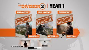 The Division 2 - Year One Content