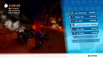 Crash Team Racing Nitro-Fueled - Dragon Mines & Retro Stadium Gameplay | PlayStation Underground