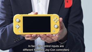 První pohled na čistě handheldový Nintendo Switch Lite