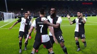 eFootball PES 2020 x Juventus FC – oznámení EXKLUZIVNÍHO partnerství