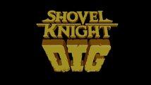 Shovel Knight Dig - Oznámení