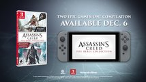 Assassin's Creed: The Rebel Collection - Oznámení verze pro Switch
