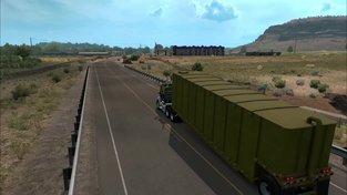 American Truck Simulator - Utah -  Cesta z Glen Canyon Dam Bridge do Salina