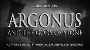 Argonus and the Gods of Stone - retro trailer