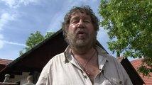 Zakleté pírko: film o filmu (natáčení)