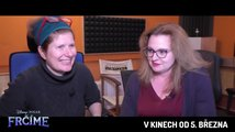 Frčíme (2020): film o filmu (režisérky českého dabingu Alice Nellis a Adéla Kubáčková)
