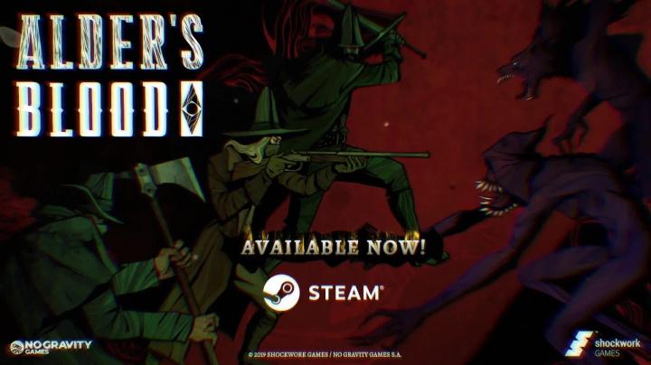 Alder's Blood - Release Day