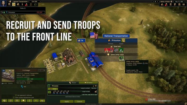Railroad Corporation: Civil War - Občanská válka vlaků