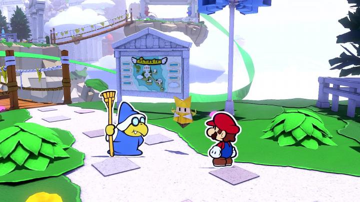 Paper Mario: The Origami King - Představení nového Maria