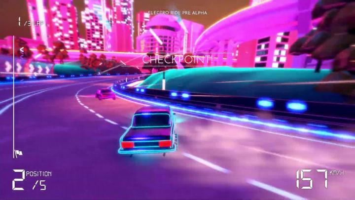 Electro Ride: The Neon Racing - Oznámení