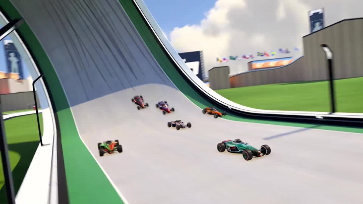 Trackmania - startovní trailer