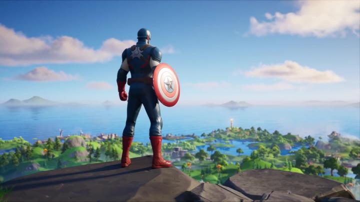 Fortnite - Captain America