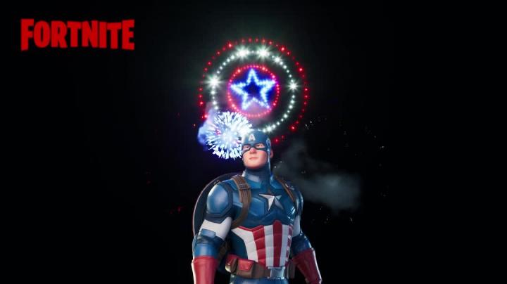 Fortnite - Captain America Salute
