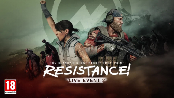 Ghost Recon Breakpoint: Resistance! Live Event Trailer