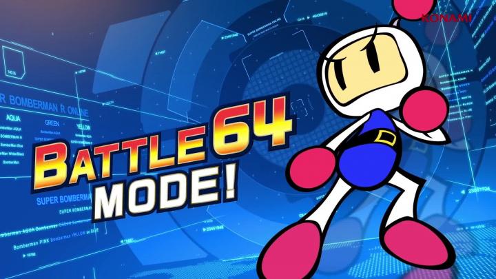 Super Bomberman R Online - oznamovací trailer na Stadii