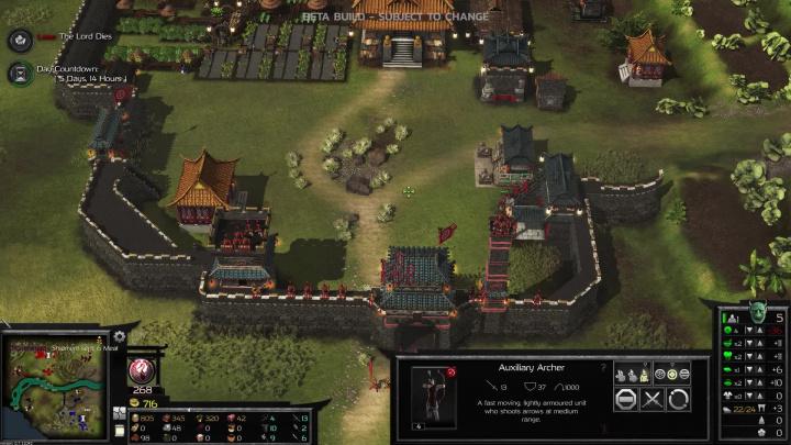 Stronghold: Warlords - 40 minut z hraní kampaně