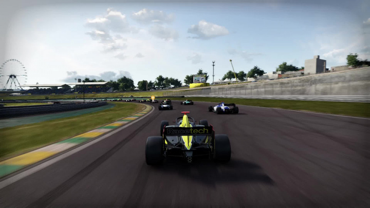 Project CARS 3 - Různé pohledy ve Formuli B