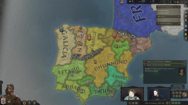 Crusader Kings III - první ukázka
