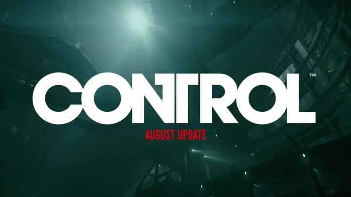 Control - Srpnový update