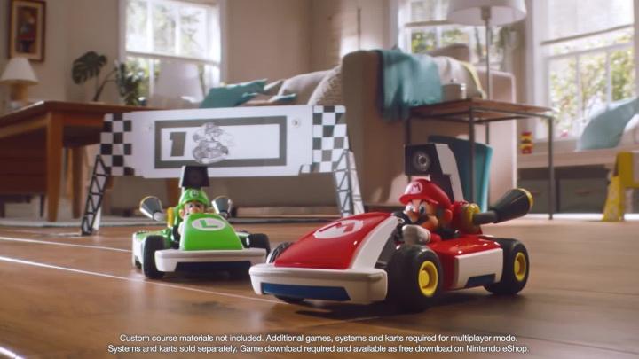 Mario Kart Live: Home Circuit - Oznámení augmentovaných závodů
