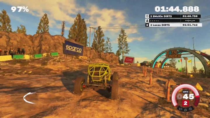DiRT 5 - Záběry z hraní na Xbox Series S