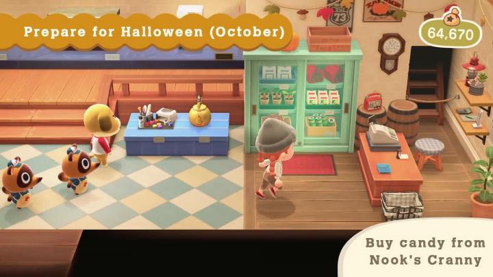 Animal Crossing: New Horizons - Halloweenský update