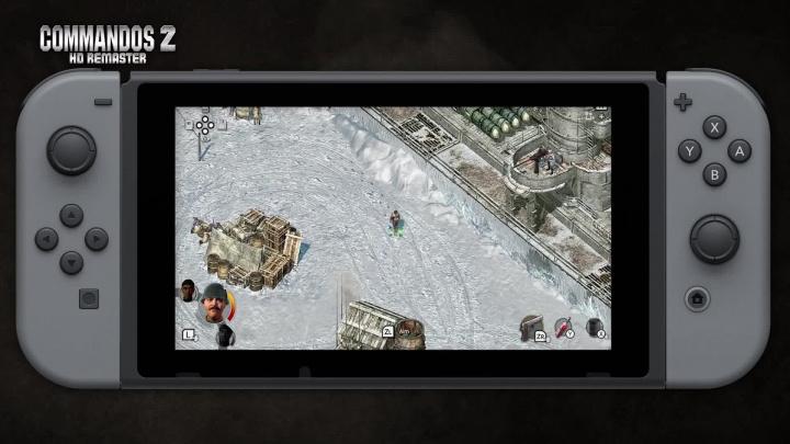 Commandos 2 - HD Remaster - Brzy na Nintendo Switch