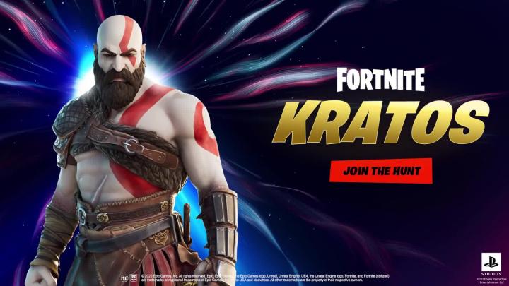 Fortnite Chapter 2 - Kratos trailer