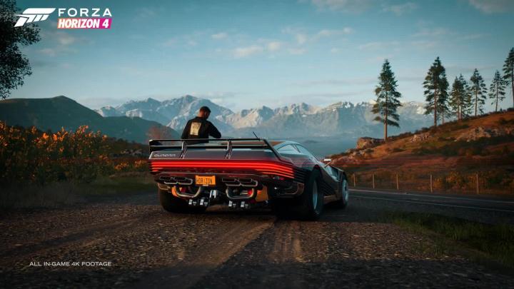 Forza Horizon 4 - Kyberpunk v Británii